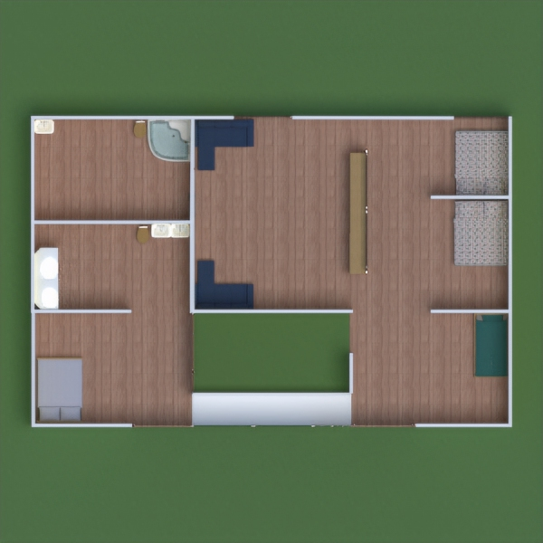 floorplans house decor living room kitchen kids room 3d