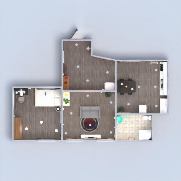 floorplans квартира мебель декор ванная спальня гостиная кухня освещение ремонт прихожая 3d