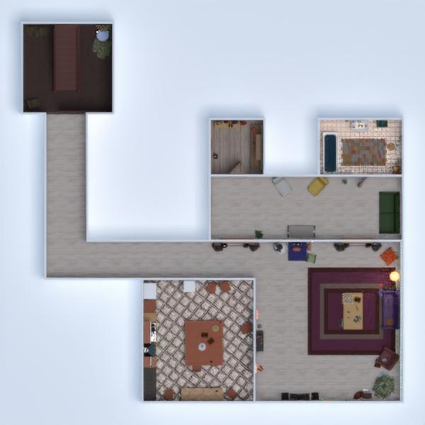 floorplans casa bricolaje reforma trastero 3d