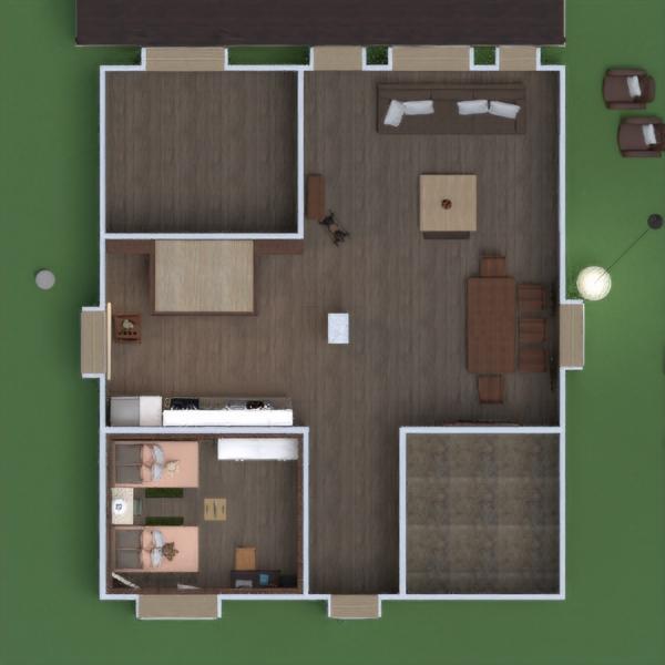 floorplans butas namas terasa baldai dekoras pasidaryk pats miegamasis vaikų kambarys apšvietimas renovacija sandėliukas studija 3d