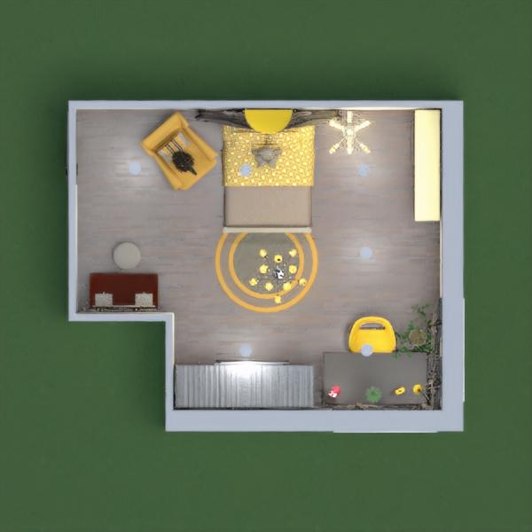 progetti arredamento decorazioni angolo fai-da-te cameretta illuminazione 3d