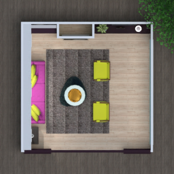 floorplans living room 3d