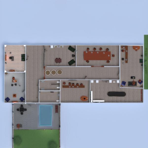 floorplans casa decorazioni cucina studio caffetteria 3d