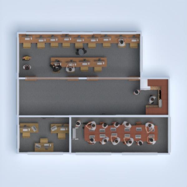 floorplans dekoras virtuvė biuras studija 3d