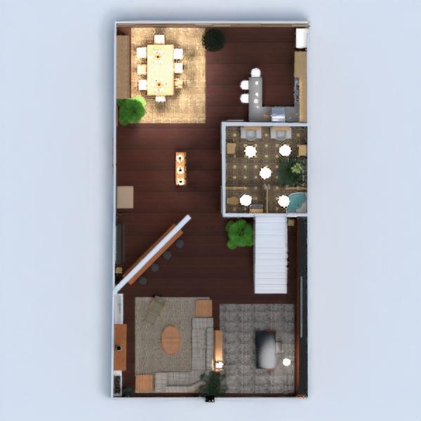 floorplans apartamento casa muebles decoración bricolaje cuarto de baño dormitorio salón cocina despacho iluminación hogar arquitectura descansillo 3d