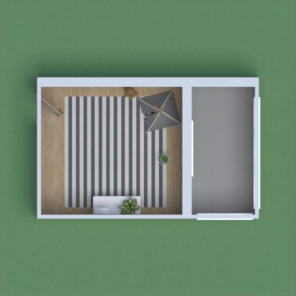 Marine-themed apartament with balcony