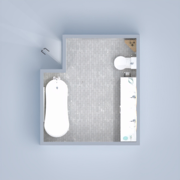 Clean bathroom with nice interior