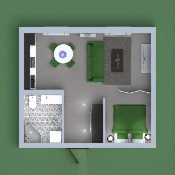 Practical small apartment :)
