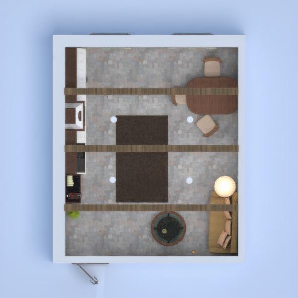 Ein gemütliches und altmodisches Zimmer