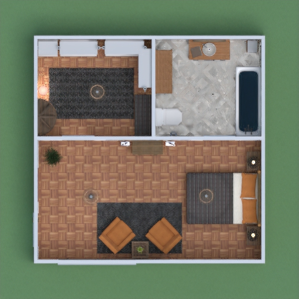 this is my bedroom with a bathroom and a wadrobe, i tried to make it boho style. i hope u like it, if u do, pls vote for me and leave a comment.