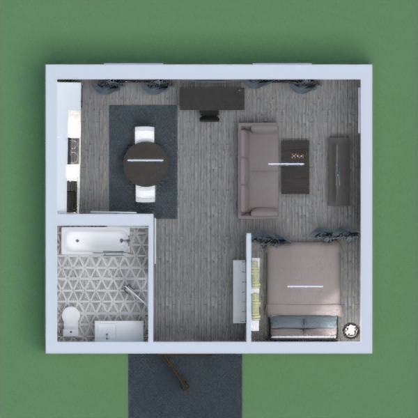 This is a comfortable and cozy apartment for 1 maybe, 2 people and is like really my dream apartment and I just love it. So if you vote for me I will vote for you!! And please add suggestions on what I could do better.