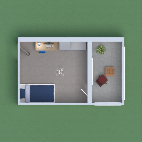 This Project is meant to to be a simple design of a teen's Bedroom