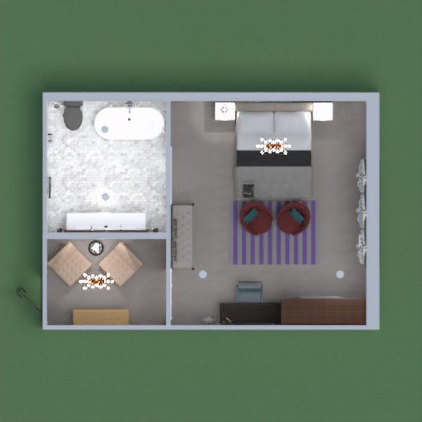 Es una suite de un lujoso y moderno hotel