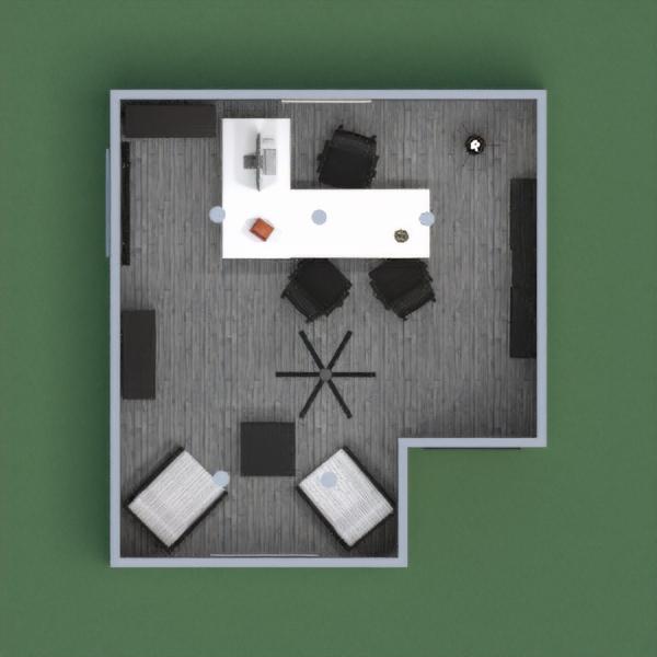 Ufficio bianco e nero