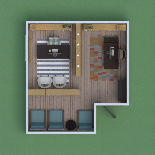 Small office with waiting area