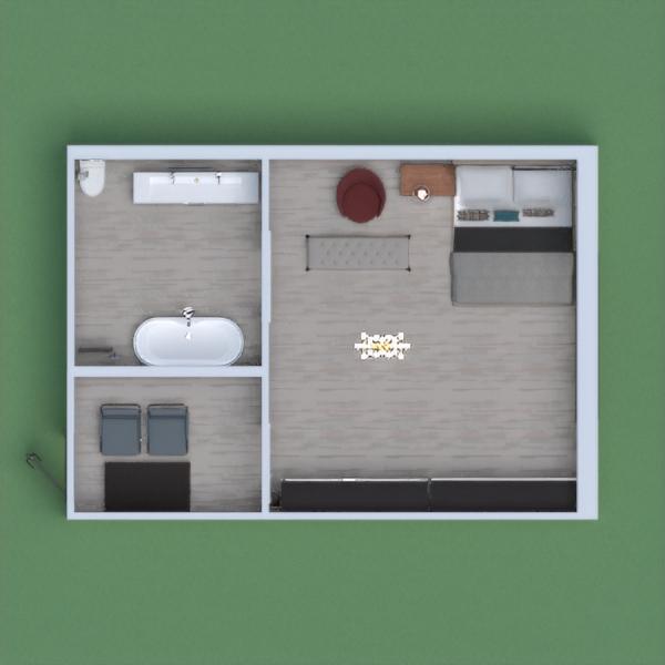 esta casa es para una persona y tiene espacio para invitados y dormitorio y no puede faltar un baño todo tiene estilo contenporaño
