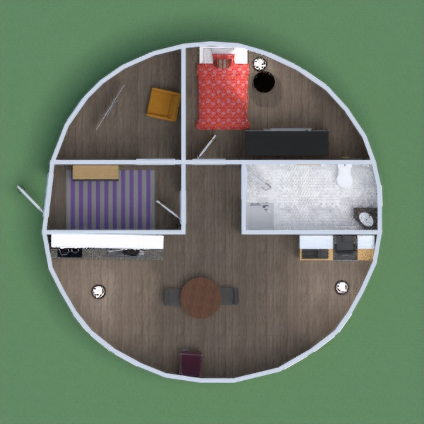 so this is a aparment the stoge is a min livung room the bedroom is where people read the kitchen is a kitchen