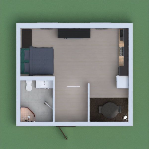 small one person apartment (I had to rearrange it quite a few times) please vote for me