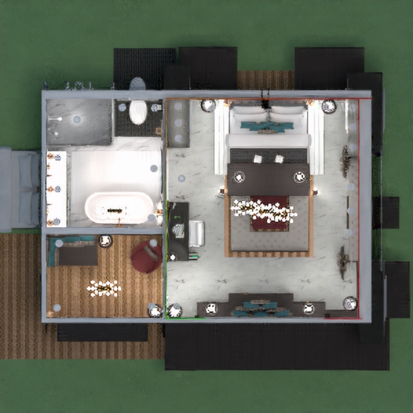 An ultra luxurious hotel suite on the bleeding edge of technology featuring 4K in room theater complete with ambient lighting and surround sound system. Other features include an in room gaming PC, retractable dining table, as well as pullout-modular seating. Gear up and go explore the great outdoors by hiking or biking one of the many surrounding trails!! Or, simply stay in, chillax and enjoy the even greater indoors.