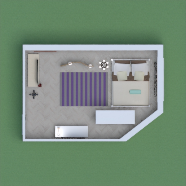 It is an building of just one bed room with no bathroom for 1 person. Hope you like it. salam.
