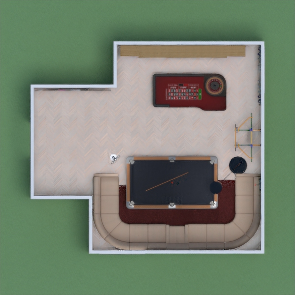 Hello! My name is Ink! Today, I made a nice, dark, gaming room. It has Pool, Roundtable, and an at home gym. You can play on the Xbox too. Also Please vote for me!