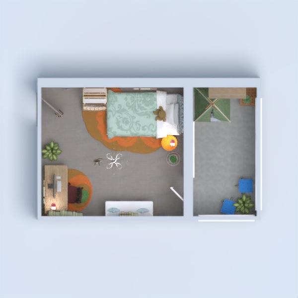 A bedroom.
