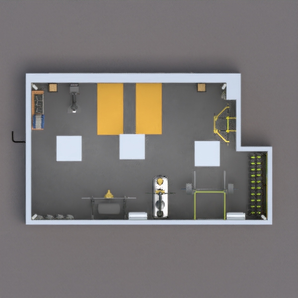 Light yellow walls