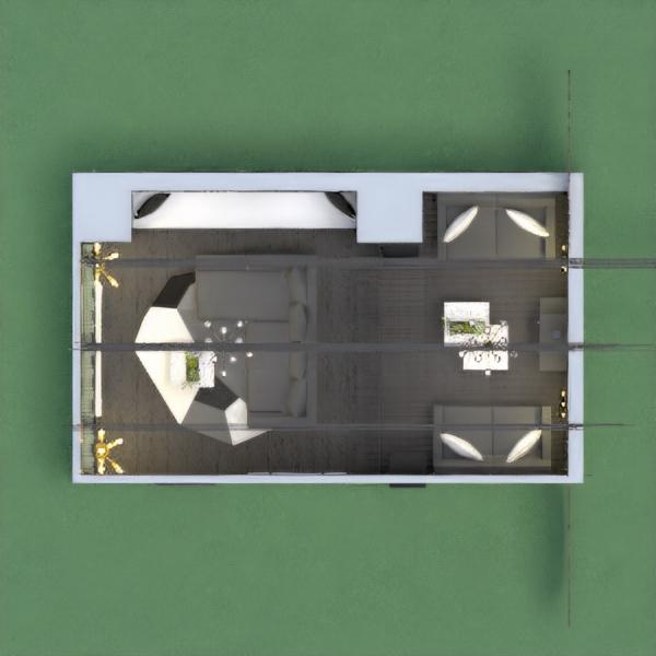 PROHIBIDO PONER COMENTARIOS DE COPIA Y PEGA NI TAMPOCO DE YO TE HE VOTADO, VOTAME, QUIEN LO HAGA LO DENUNCIO. ;) Este salón tiene dos parte, una para ver la tele y otra con una chimenea, separadas con una escalera. Todo gira entorno a los colores gris, blanco, negro y a los ladrillos. También tiene un banco debajo de la ventana, ya sea para leer o almacenar cosas.