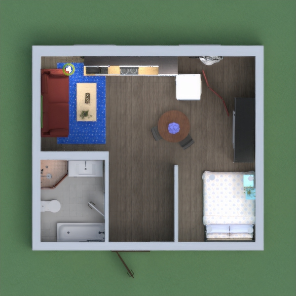 Hi! Ink here, today i made a small apartment, i made it very decorative and pretty, but i didn't use too much stuff. I hope you like it! please vote! -Ink!