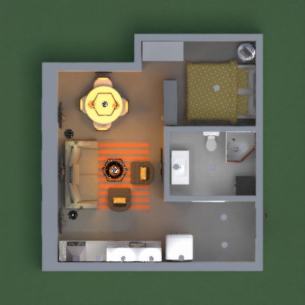Sevimli,küçük bir daire.