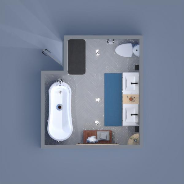 A Blue Bathroom where you can feel at peace