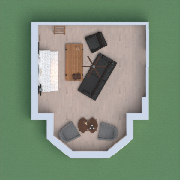 My living room is a really nice Scandinavian style room with wood tones and some contrasting decor! Please vote for me, I'll vote for you.
