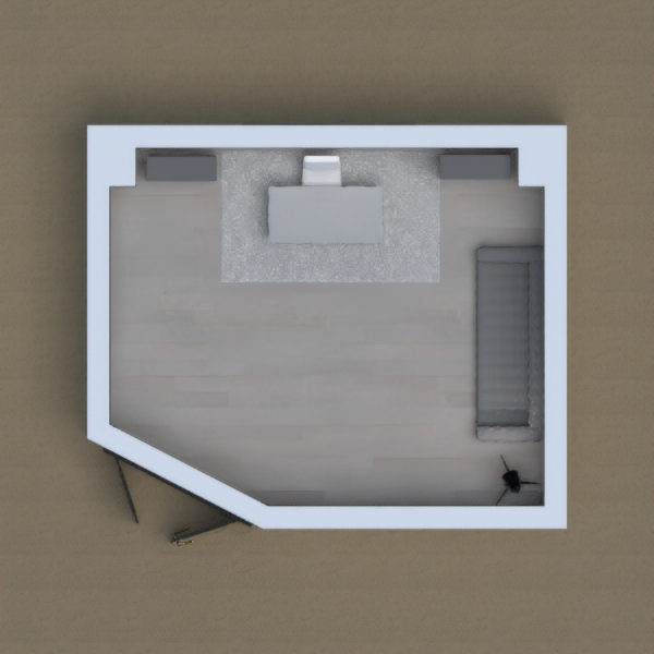 This project is FUN-ctional ! Why cant a living room double as an office? It CAN! Office by morning, living room by afternoon! Enjoy the view outside when your technically at work!