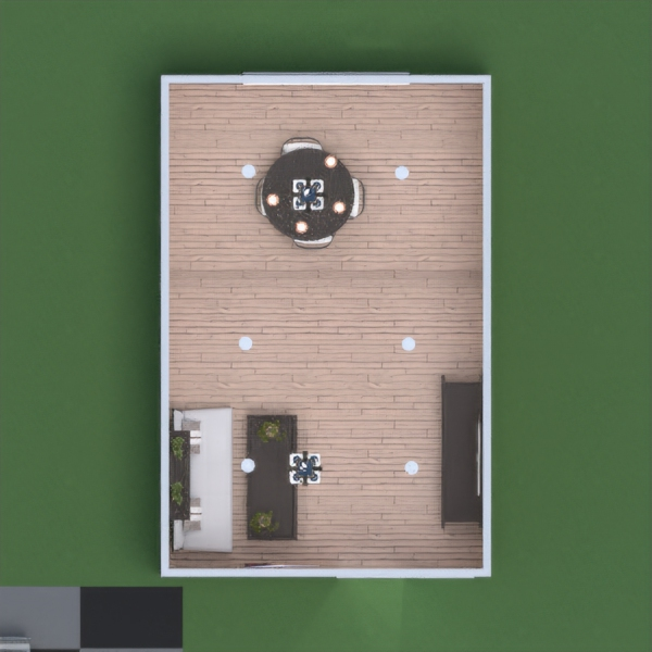 It's a Japanese style house with an outdoor tea area.
