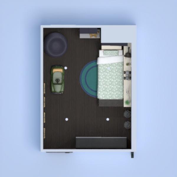 quarto para menino verde