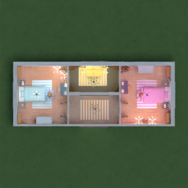 Two Bedroom for Two Sisters & One Relax Room!