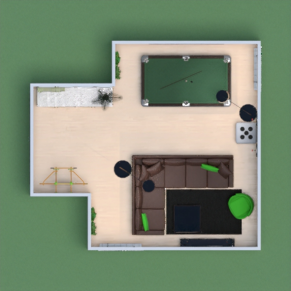 Entertainment room for family and friends to play board games.  Thanks for your vote.