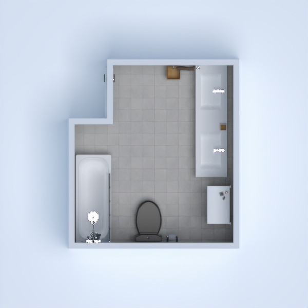 my bathroom is an almost exact copy of a bathroom in my house!