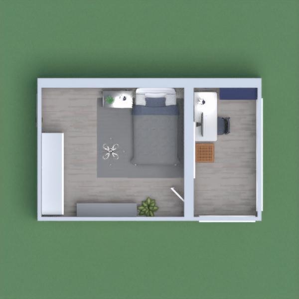 quarto moderno .