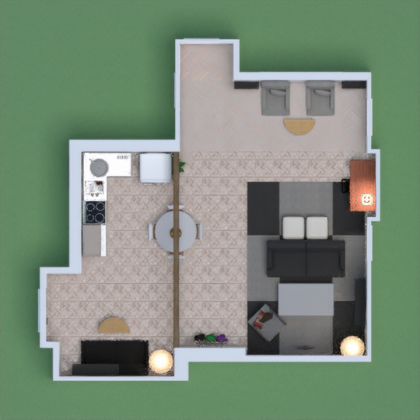 A cute cozy apartment, so vote for me!