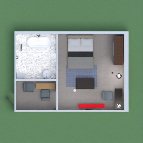 This is my hotel room that I designed please vote for me and put your link at the comment side and i would visualize your project and vote for you