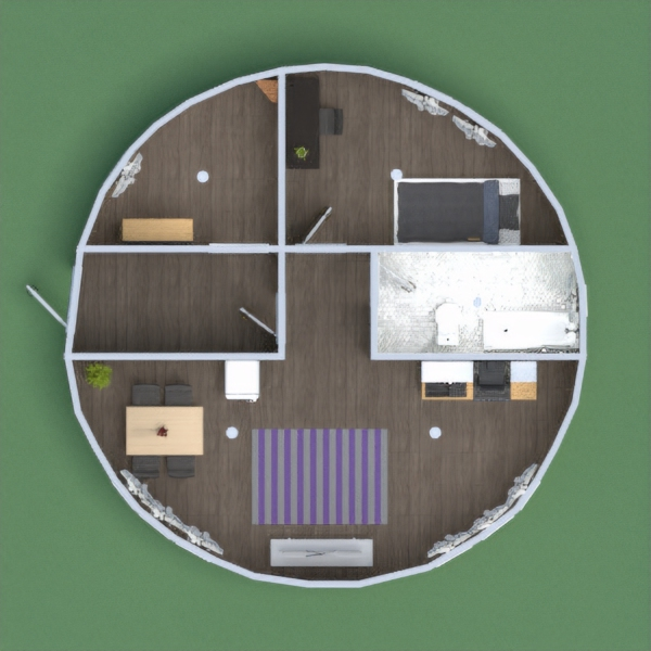 This is my round house