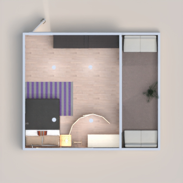 I made this a small apartment. Please like it!