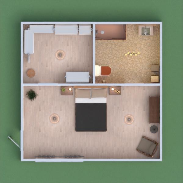 Boho style interior