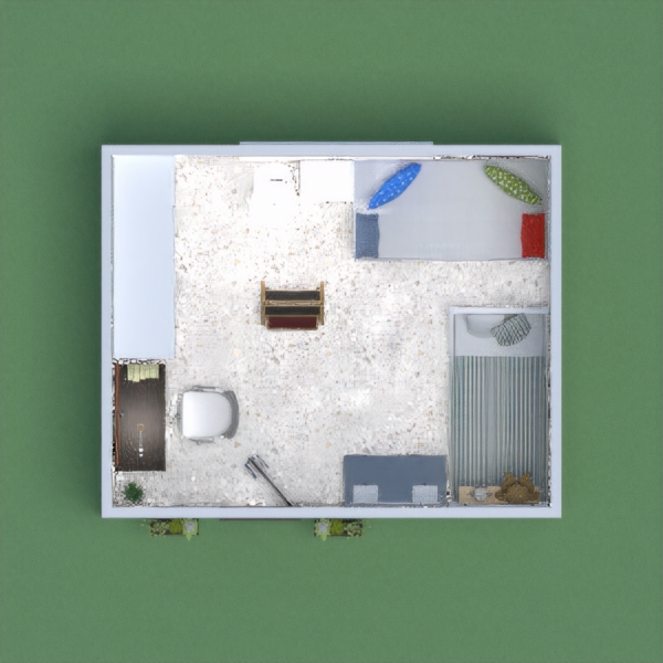 The girl's bedroom with a sofa and a desk! (Please vote!)