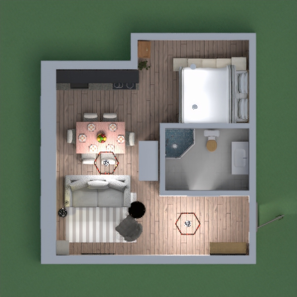 please vote for me, This is a comfy mini apartment.