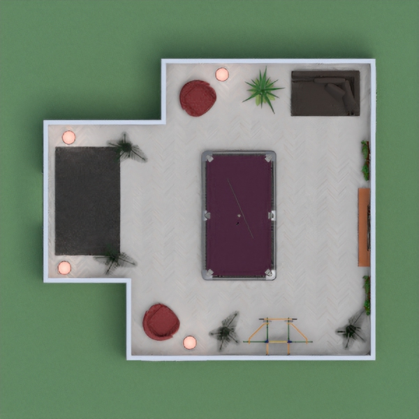 Cozy family game night room. Chill with the family and enjoy the fun.