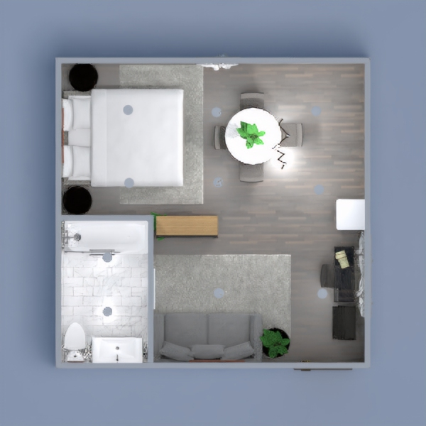 A cute studio apartment with everything you could ever need!