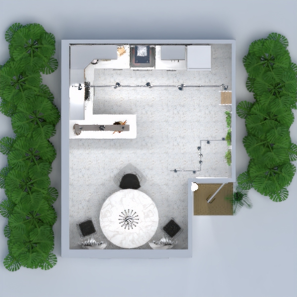 Modern spring home