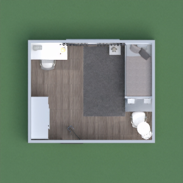 This is a bedroom for 2 sisters with modern minimalist parents. it has a vanity behind the bed to save space. and a work table. please vote for me i will vote for you just leave you link!!!!!!!!!!!!!!!!!!! :)